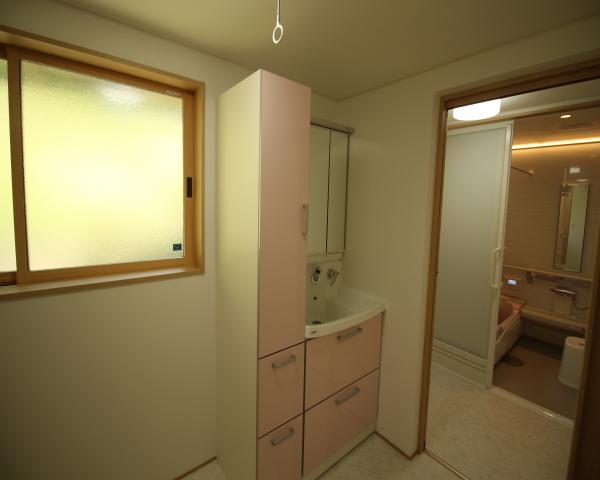 リフォーム 洗面化粧室~浴室