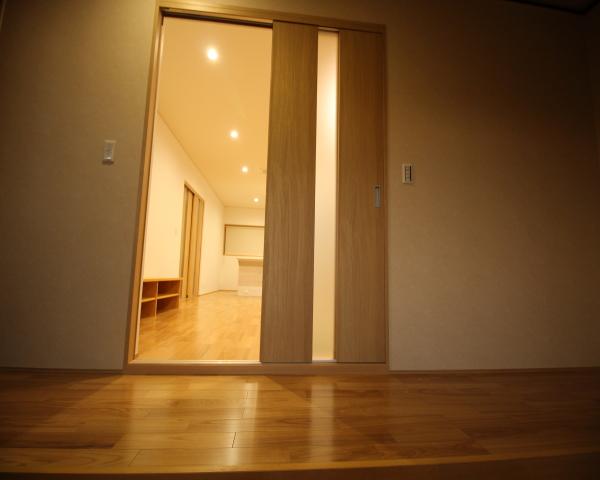 リフォーム 玄関~リビング入口