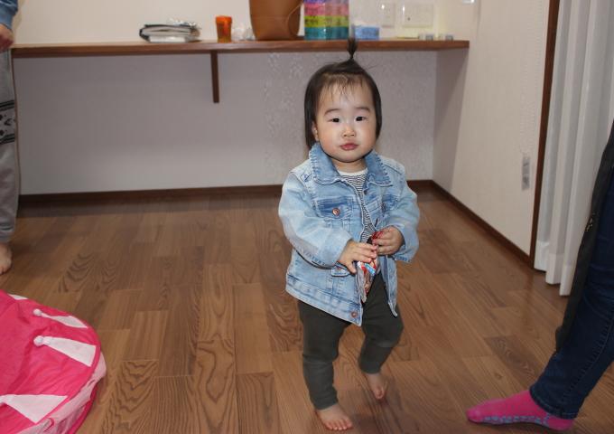 工務紙井 新築 施工事例 リビング 子供 幼児