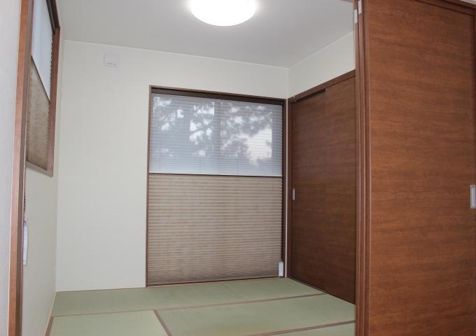 工務紙井 新築 施工事例 和室 スクリーン