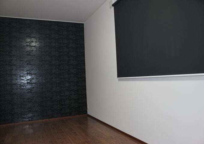 工務紙井 新築 施工事例 寝室 黒
