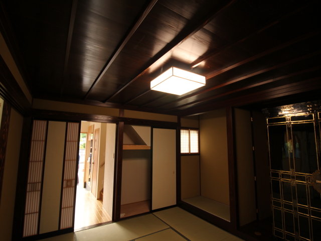 工務紙井 新築 施工事例 BELS 和室 仏間 床の間