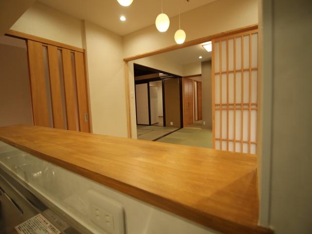 工務紙井 新築 施工事例 BELS 和室 広間 動線