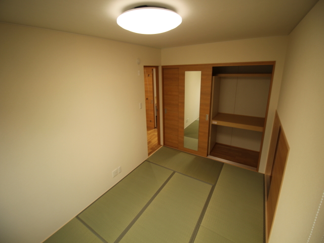工務紙井 新築 施工事例 和室 収納 押入 寝室